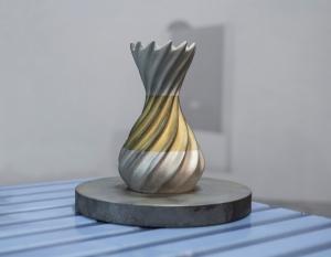 objet obtenu par frittage poudre sur une imprimante metal 3d Prototype et Serie